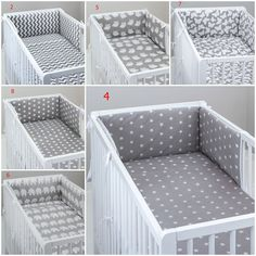 To fit baby cot or cot bed. duvet cover 120 x 90 cm for cot. or cm for cot bed. bumper 180 x 30 cm for cot. or cm for cot bed. pillow case 60 x 40 cm.