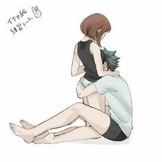 My Hero Academia Memes, Buko No Hero Academia, Hero Academia Characters, My Hero Academia Manga, Anime Characters, Anime Couples Drawings, Anime Couples Manga, Cute Anime Couples, Anime Art Girl