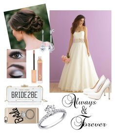 """""""Wedding Look"""" by savvy-style13 on Polyvore featuring Charlotte Tilbury, Charlotte Russe, Kate Spade, Casetify and BERRICLE"""