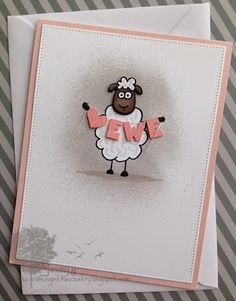 Love Ewe!! I could probably use my Quckcutz sheep to do something similar.