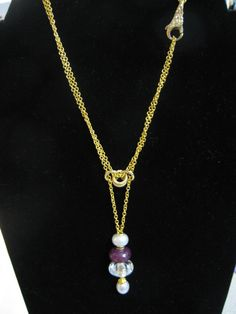 Trollbeads gold necklace