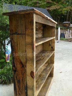 Pallet Bookcase Tutorial
