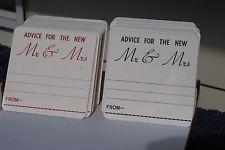 Wedding Advice Coasters X 50