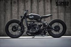"""BMW Street Bobber """"Diablo Machine"""" by K-Speed - Photo by OverRide #motorcycles #bobber #motos 