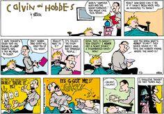 Calvin and Hobbes Comic Strip, July 10, 1988 on GoComics.com