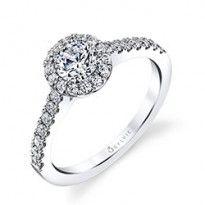 Classic Round Diamond Petite Engagement Ring