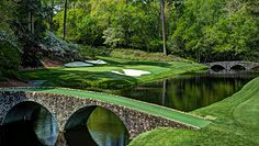 It is that time of the year again - I love watching The Masters.  #12 is a very fun hole.