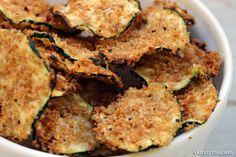 Why hit the vending machine when you can have a yummy superfood snack, like Oven Baked Zucchini Chips?