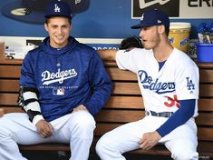 Corey & Cody Cute Baseball Hats, Baseball Guys, Baseball Quotes, Better Baseball, Baseball Players, Baseball Cupcakes, Baseball Stuff, Let's Go Dodgers, Dodgers Nation