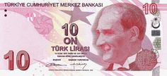Matawang Turkey (10 Türk Lirası).                     Nama Mata Wang:    Turkish Lira      Kod ISO 4217:    TRY      Ibu negara:    Ankara...