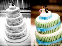 Granite Club wedding cake Granite, Boston, Wedding Cakes, Club, Desserts, Food, Wedding Gown Cakes, Meal, Granite Counters
