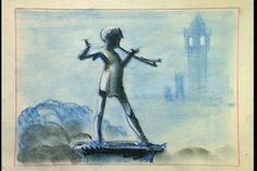 Peter Pan Concept Art