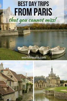 Paris Day Tours, Small Towns near Paris, Day Trips from Paris by Train, France Travel, Paris Travel Tips, Europe Travel Tips, European Travel, Travel Destinations, Budget Travel, Travel Guides, Paris Things To Do, Hotel Des Invalides, Day Trip From Paris