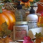 This is my Halloween treat-no tricks for my honey- Pumpkin and Honey treats from B.Witching Bath Company!