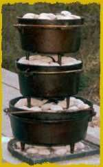 Campfire Cooking With A Dutch Oven Or Multiple Dutch Ovens. - Thehomesteadsurvival