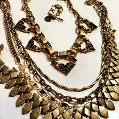 @official_jazaar New arrivals are up #stack #statement #necklace