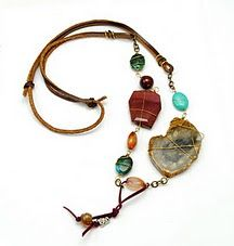 awesome asymmetric necklace
