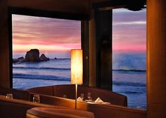 Moonraker (Pacifica, California) is named one of the restaurants with the most scenic views in America.