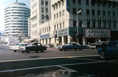 Vine Street at Hollywood Blvd. in 1964.