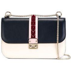 Valentino Garavani 'Glam Lock' shoulder bag (€2.495) ❤ liked on Polyvore…