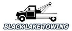Black Lake Towing specializes in 24 Hour Towing, Local & Long Distance Towing, Auto Towing, Interstate Towing, Light Duty Towing, Medium Duty Towing, Motorcycle Towing & Truck Towing, and Emergency Towing, Gas Delivery, Roadside Assistance, Jump Starts, Tire Changes, Lock Outs
