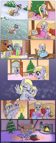 Comic - Hearth's Warming Together by muffinshire.deviantart.com on @deviantART... okay I had to post this one after that other one...you know the one ;_;