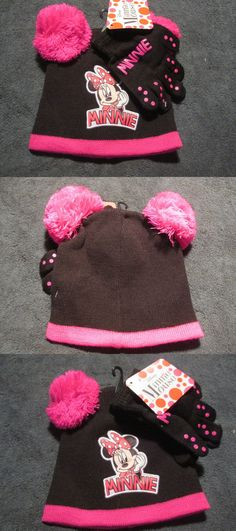 b76b1e4cd27 Hats 15630  Disney Mini Mouse Girls Hat And Glove Set Child Beanie -  BUY  IT NOW ONLY   11.99 on  eBay  disney  mouse  girls  glove  child  beanie
