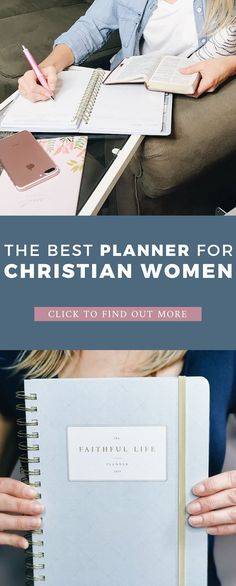 THE BEST planner for Christian women :: weekly planner + quiet time journal + more. The Faithful Life Planner helps you care for your soul while still managing your day-to-day life. Mom Planner, Weekly Planner, College Planner, College Tips, Christian Families, Christian Women, Christian Quotes, Christian Parenting, Christian Homemaking