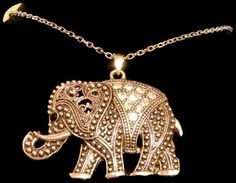 'Adorable Tibetan Elephant /w Swarovski Crystals' is going up for auction at  6am Sat, Oct 6 with a starting bid of $1.