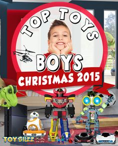 What are the best toys for boys? Tons of great Christmas gift ideas for boys.