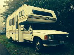 I'm a homeowner! To a 1987 Toyota Dolphin Mini Motorhome!This whole buy-an-RV-and-live-in-it-full-time thing is happening a lot faster than I originally imagined. I have no idea what I am doing and...