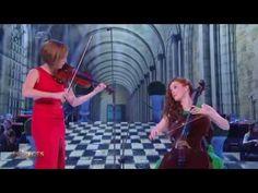 "Camille Berthollet (16 ans) et sa sœur : ""Danse Hongroise n°5"" - YouTube"