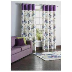 Tesco Marrakesh Print Lined Eyelet Curtains W163xL229cm (64x90