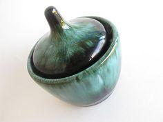 Pot pottery blue mountain pottery blue mountain by AlbertsAttic