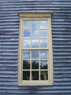 Multi-paned Georgian window- Tate House
