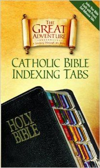 Catholic Bible Indexing Tabs Great Adventure: Ascension Press: 9781932645705: Amazon.com: Books