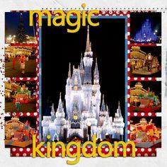 magic kingdom ~ page 6 - Scrapbook.com