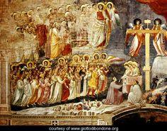 Cappella Scrovegni a Padova, Life of Christ, Last Supper - Giotto Di Bondone - www.giottodibondone.org