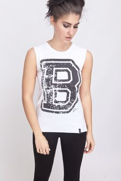 "Blacklabel ""Dickes B"" Ripped Sleeveles T-Shirt von ADDICTED2Berlin auf Etsy"