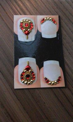 Nail Jewels, Nail Gems, Gem Nails, E Design, Manicure, Nail Art, Nail Stickers, Nails Inspiration, Accent Nails