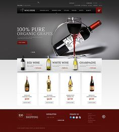 Website Template #webdesign #ecommerce #magento
