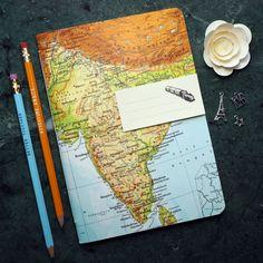 Reise-Geschenk REISETAGEBUCH Indien Bombay Mumbai Goa
