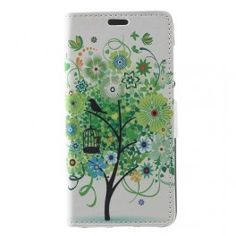 Huawei Honor 8 Lite vihreä puu puhelinlompakko. P8 Lite, Flowering Trees, Samsung Galaxy Note 8, Sony Xperia, Notebook, Phone Cases, Flower Tree, Flowers, Bun Hair