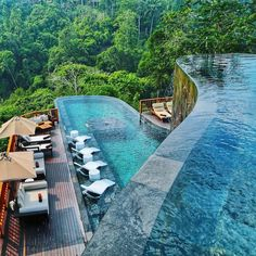 """819 Likes, 7 Comments - Impeccable Hotels (@impeccablehotels) on Instagram: """"Hanging Gardens Ubud Bali #impeccablehotels @travellersplanet """""""