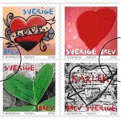 Sweden 2006 Love Stamps