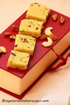 Barfi recipe / Barfi is a most popular indian sweet dish. Traditional burfi's are made from mawa or khova, a condensed milk solid.  There are various types of burfi's which are available in indian market and also made in indian houses.  Today's recipe is milk powder burfi  which is very similar to a fudge and...Read More »