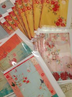 The Kathe Fraga Greeting Card Collection, inspired by my Chinoiserie inspired paintings. www.kathefraga.com