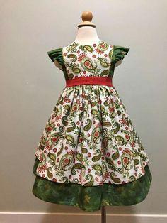 vintage georgia christmas dress - Vintage Christmas Dress