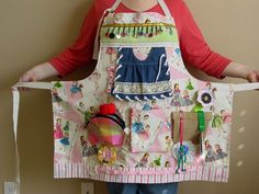 RESERVED LISTING - Busy Lady's - Fidget Apron- Tactile - Fun for Alzhiemer  Patients | Inspiration, Search and Blankets