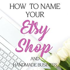 choose a name for etsy shop shop name ideas How to Start an Etsy Shop Handmade Shop, Etsy Handmade, Etsy Jewelry, Jewelry Shop, Yoga Jewelry, Glass Jewelry, Shop Name Ideas, Etsy Seo, Etsy Shop Names